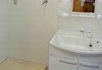 新規 洗面化粧台、洗濯機パン